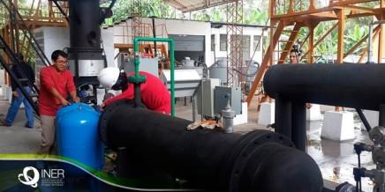 Gasificador para Mezcla de Biomasa sólida con distintos contenidos de humedad